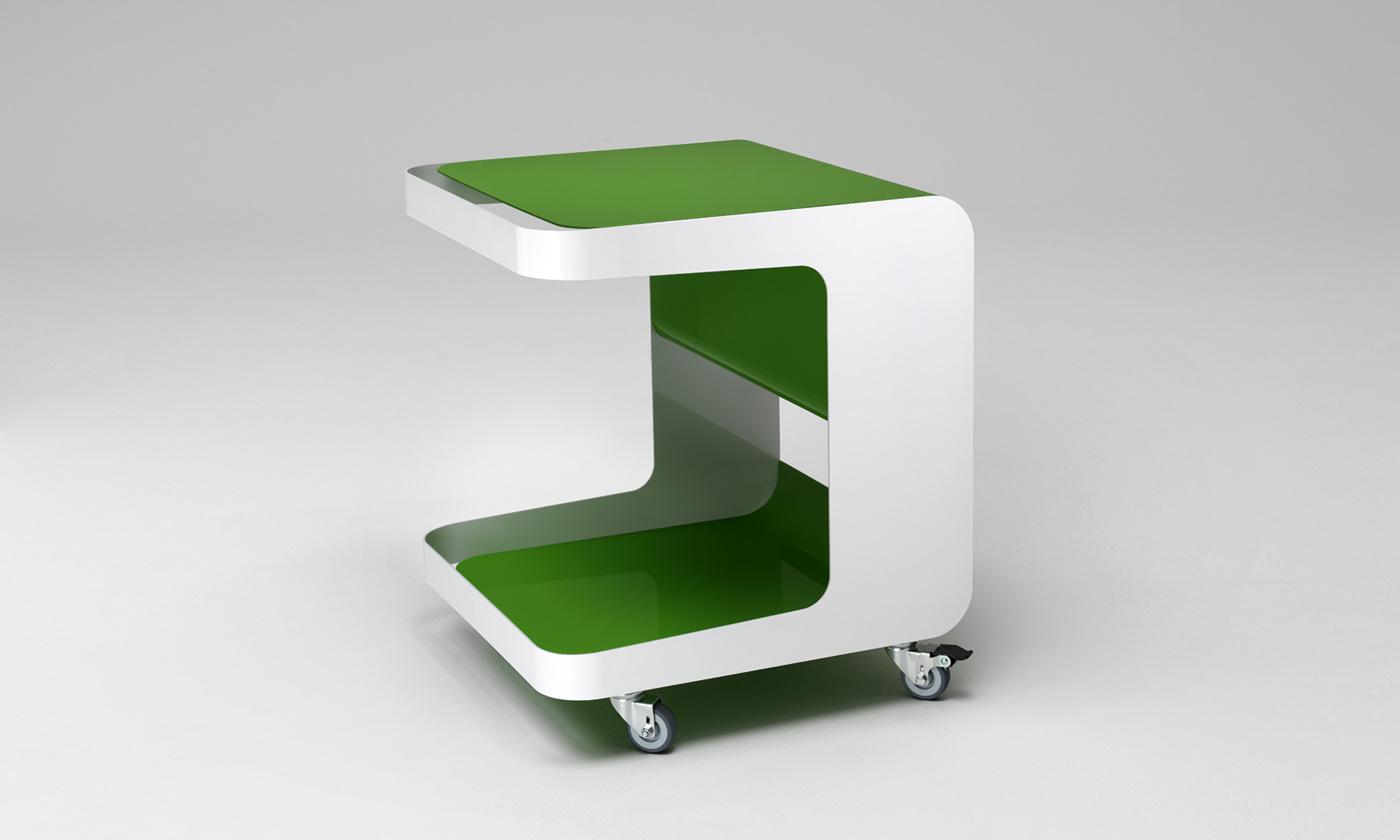 Rollcontainer für Müller Möbelfabrikation von Philipp Günther Design