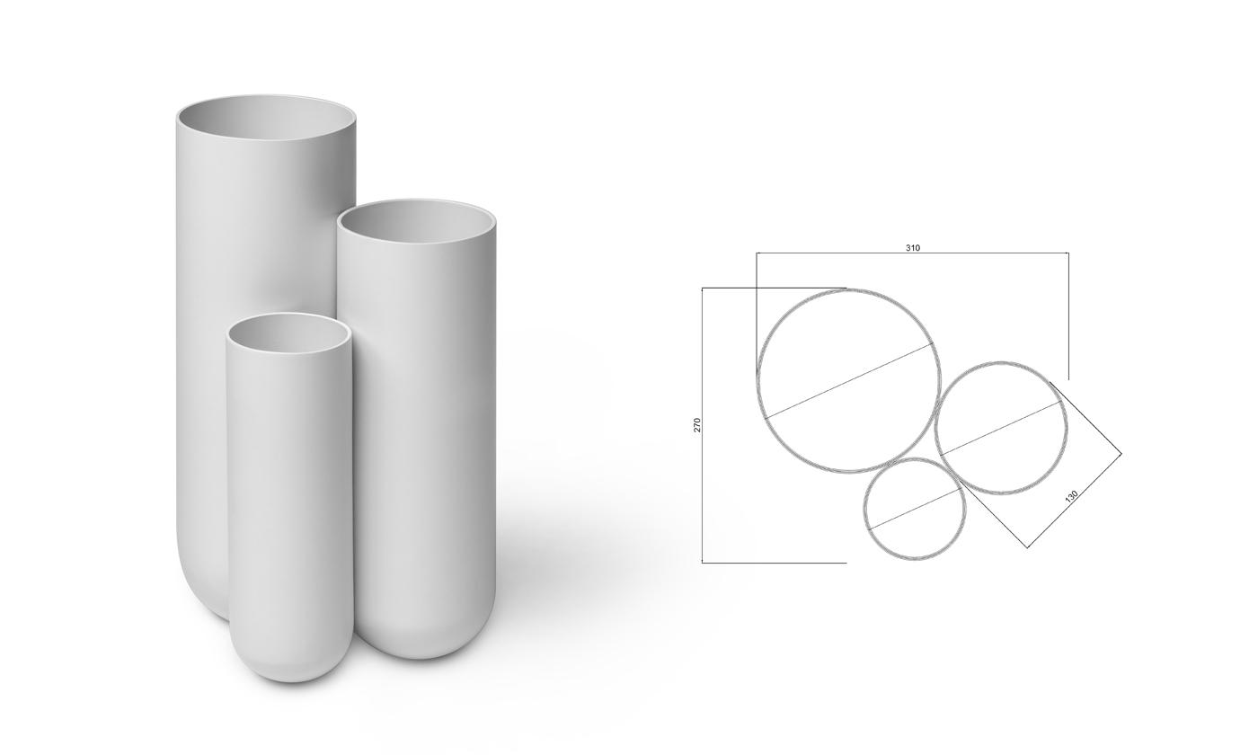 Schirmständer Step Industriedesign Hamburg Philipp Günther Design
