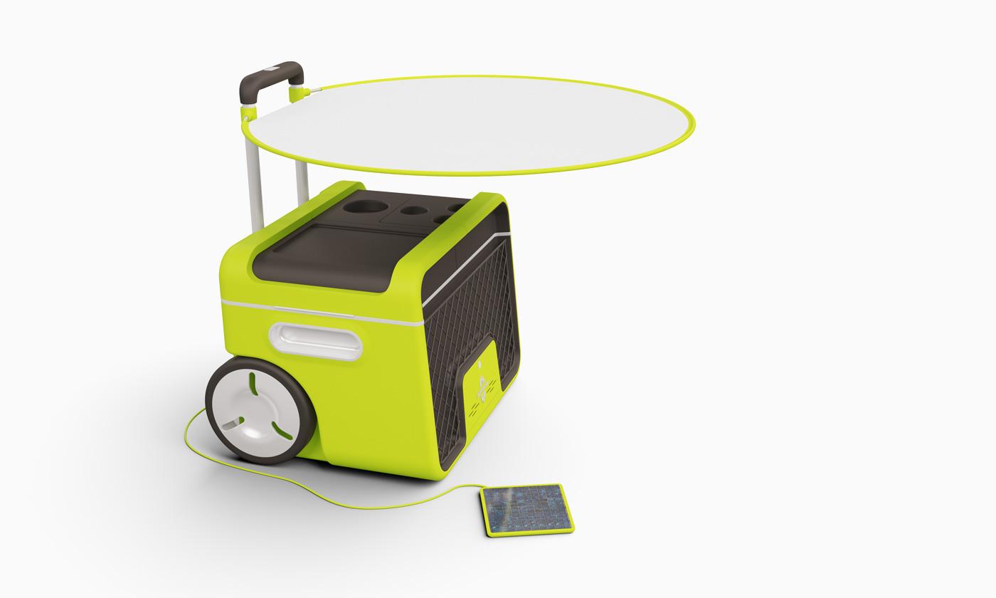 Industriedesign Entwicklung einer Kühlbox Philipp Günther Design
