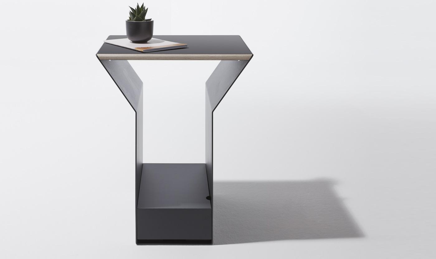 Möbeldesign Hamburg Beistelltisch Ypps Müller